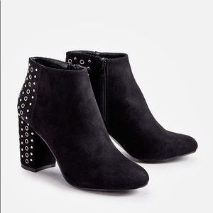 JUSTFAB. Holyn. NWT. Black. Boots/Booties